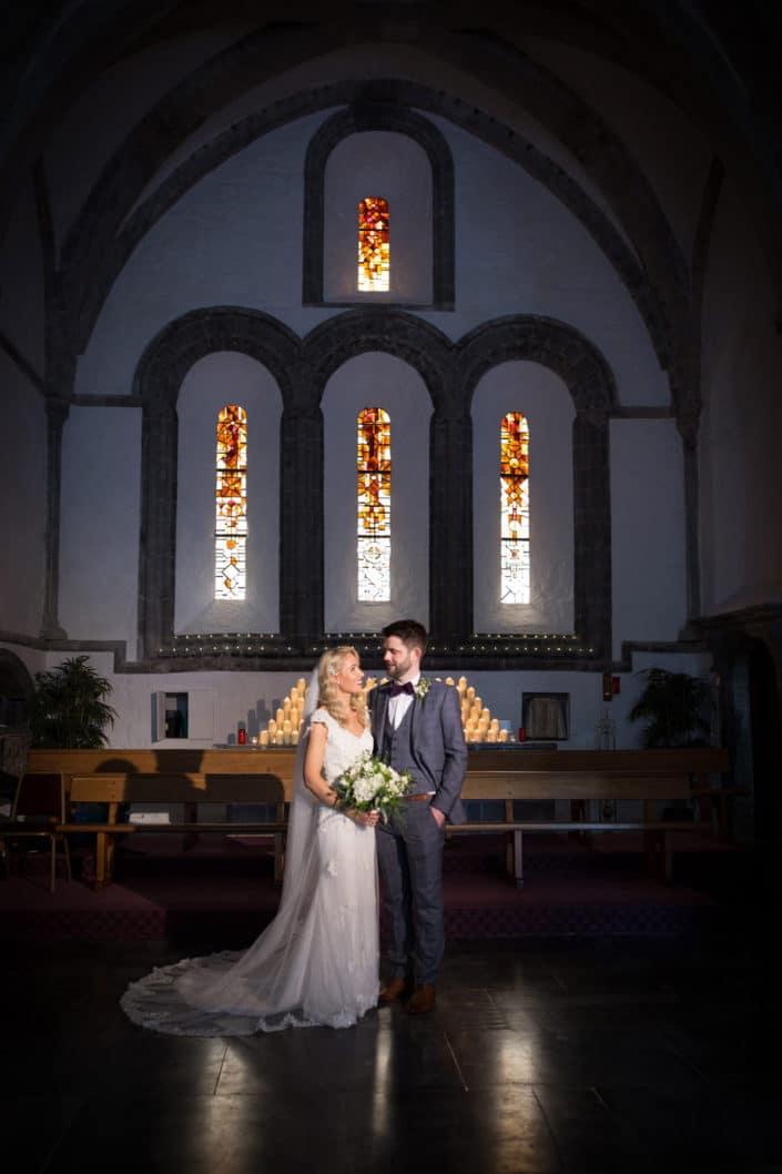 Bride Groom in Ballintubber Abbey
